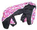 ZooAvtoritet Комбинезон для средних собак, размер 2XL, спина 40см сиреневый/черный
