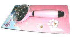 4 My Pets Пуходерка овальная розовая 185*90мм