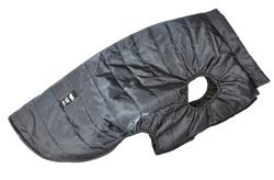 LifeDog Попона для больших пород собак, размер 6XL, черная, спина 60-62см