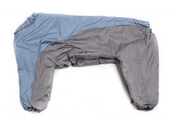 ZooPrestige Комбинезон утепленный серо/голубой, размер 8XL, спина 75см