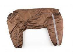 ZooPrestige Комбинезон для немецкой овчарки коричневый, размер 8XL, спина 75см