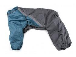 ZooPrestige Комбинезон утепленный, Боксер, серый/морская волна 5XL, спина 60см
