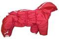 ZooPrestige Комбинезон утепленный Дутик, красный, размер 2XL, 3XL, синтепон