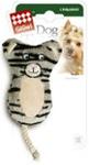 GiGwi Игрушка для собак Кот с двумя пищалками