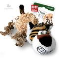 GiGwi Игрушка для собак Тигр с пищалкой