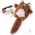GiGwi Игрушка для собак Лиса с большой пищалкой