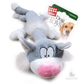 GiGwi Игрушка для собак Кот с пищалкой