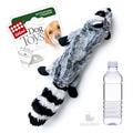 GiGwi Игрушка для собак Енот с бутылкой пищалкой