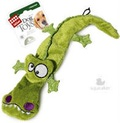GiGwi Игрушка для средних собак Крокодил с 4-мя пищалками 38см