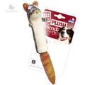 GiGwi Игрушка для собак Белка с большой пищалкой 29см