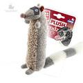 GiGwi Игрушка для собак Енот с большой пищалкой 17см