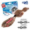 GiGwi Игрушка для средних и крупных собак Утка с отключаемой пищалкой 18см
