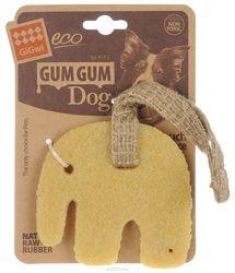 GiGwi Игрушка для маленьких собак Маленький слон из эко-резины 9см