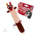 GiGwi Игрушка для собак Лиса с пищалкой 37см