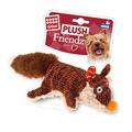 GiGwi Игрушка для маленьких и средних собак Лиса с пищалкой 9см