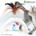 GiGwi Интерактивная игрушка для кошек Фезер Спиннер с звуковым чипом