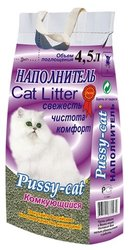 Pussy-cat Наполнитель для кошачьего туалета комкующийся