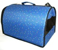 "Lion Сумка-переноска ""Standart"", голубая, размер L 47х31х30см"