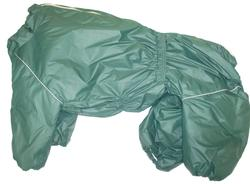 LifeDog Комбинезон для крупных пород собак зеленый, размер 7XL макси, спина 75-85см, грудь до 105см