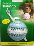 """Beeztees Игрушка для собак резиновый шар """"BALINGO"""" для ухода за зубами 6см, цвет в ассортименте (голубой и розовый)"""
