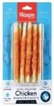 Wanpy Dog трубочки из сыромятной кожи с куриным мясом 85 г