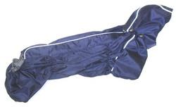 ZooAvtoritet Дождевик для таксы, синий, размер ТБ1, длина спины 50см