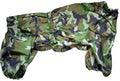 LifeDog Дождевик для больших пород собак, камуфляж, размер 6XL, спина 66см камуфляж