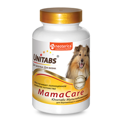 Unitabs MamaCare с B9 Витамины для беременных собак 100таб