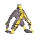 Hunter Шлейка для собак Neopren Vario Quick M (55-70)/1,5 см нейлон/неопрен желтый/бежевый