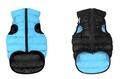 AiryVest Жилетка двусторонняя для собак, черно-голубая, размер XS, S, M, L
