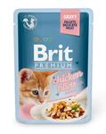 Brit Care Пауч Премиум для котят Куриное филе в соусе 85г*24шт