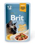 Brit Care Пауч Премиум для кошек филе Тунца в соусе 85г*24шт