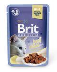Brit Care Пауч Премиум для кошек филе Говядины в желе 85г*24шт