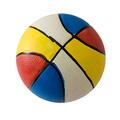 """MAJOR Игрушка для собак """"Мяч баскетбольный"""" цветной с пищалкой латекс"""