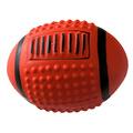"""MAJOR Игрушка для собак """"Мяч регби"""" с пищалкой латекс 12х9.5 см"""