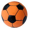 """MAJOR Игрушка для собак """"Мяч футбольный рыжий"""" с пищалкой латекс 7.3 см"""
