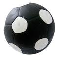 """MAJOR Игрушка для собак """"Мяч футбольный черный"""" с пищалкой латекс 9 см"""