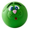 """MAJOR Игрушка для собак """"Мяч-мордочка"""" с пищалкой латекс 10 см"""