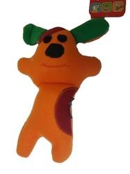 """Osso Fashion Игрушка для собак из флиса Песик с """"неубиваемой"""" пищалкой 25,0см"""