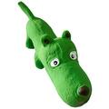 """MAJOR Игрушка для собак """"Собака зеленая"""" с пищалкой латекс 27х10х7.5 см"""