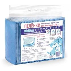 PetMil Пеленки для собак одноразовые с суперабсорбентом 60*40см