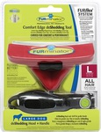 FURminator FURflex Комбо против линьки L, для собак крупных пород, 4х14х17,5см