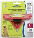 FURminator FURflex насадка против линьки L, для собак крупных пород, 5х14х15,5см