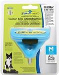 FURminator FURflex насадка против линьки M, для собак средних пород, 4,5х12х15,5см