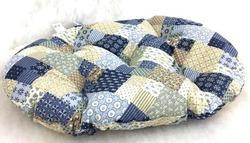 """Бобровый дворик Лежак-подушка для собак и кошек, расцветка """"Пэчворк"""""""