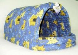 Бобровый дворик Лежак ЭСТРАДА глубокая для таксы Эксклюзив синий
