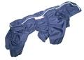 ZooPrestige Дождевик для средних пород собак Дутик, синий, размер 2XL, спина 44см