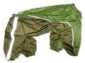 ZooPrestige Дождевик для средних и крупных собак, хаки, размер 4XL, спина 55см
