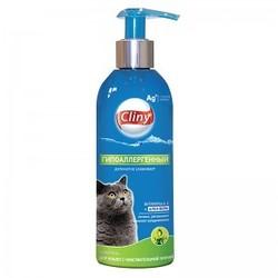 Cliny Шампунь для кошек с чувствительной кожей Гипоаллергенный 200мл