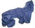 ZooPrestige Дождевик для собак Дутик, синий, размер L, спина 32-36см